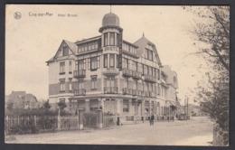 CPA -  BELGIQUE ,  COQ Sur MER, Hotel Bristol, - De Haan