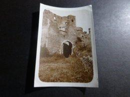 BONAGUIL CHATEAU LOT ET GARONNE FRANCE ANCIENNE PHOTO 1934 - Places