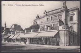 CPA  Suisse, GENEVE, Terrasse Du Kursaal Et Nouveau Theatre. - GE Ginevra