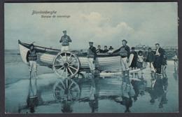 CPA -  Belgique, BLANKENBERGHE, Barque De Sauvetage - Blankenberge