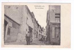 THOUARS Rue Du Chateau(carte Neuve) - Thouars