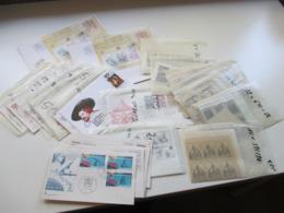 Vatican 1970er Jahre Aboware / Sätze In Einheiten Bzw. Bogenteilen! + FDC Alles In Tüten! - Collections (without Album)