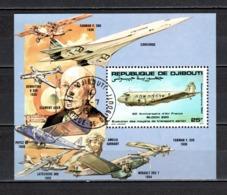 DJIBOUTI  BLOCS SPECIAUX PA N° 183  OBLITERE  COTE  ? €    AVION - Djibouti (1977-...)