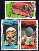 Djibouti P.A. N°161 / 63 X : Conquète De L'Espace Les 3 Valeurs  Gomme Blanche, Mate  Trace De Charnière Sinon TB - Djibouti (1977-...)