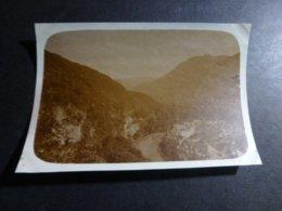 SAINT BEAT VUE SUR LA GARONNE HAUTE GARONNE FRANCE ANCIENNE PHOTO 1930 - Places