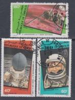 Djibouti P.A. N°161 / 63 O : Conquète De L'Espace Les 3 Valeurs Oblitérées, TB - Djibouti (1977-...)