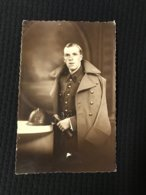 Carte Postale Ancienne Photographie Soldat En Uniforme (Photo  Bourg-Léopold - Personnes Anonymes