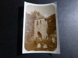 GEDRE VIEUX CLOCHER OCCITANIE HAUTES PYRINEES FRANCE ANCIENNE PHOTO 1930 - Places