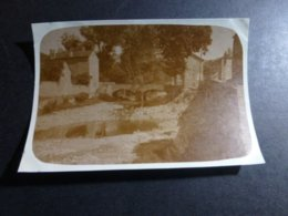 MEYRUEIS PONT SUR LE BETUZON LOZERE LANGUEDOC ROSELLON FRANCE ANCIENNE PHOTO 1930 - Orte