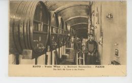 PUBLICITÉ - Carte PUB Pour Le Vin Tonique KOTO - TONIC WINE - 5 Bld Beaumarchais à PARIS - Salle Des Cuves & Des Foudres - Publicidad