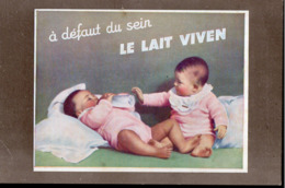 Villefranche De Rouergue (12 Aveyron) Carte Pour Le LAIT VIVEN   (PPP20811) - Reclame