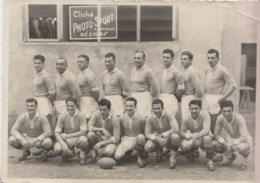 PHOTO ORIGINALE RUGBY EQUIPE DE BEZIERS 34  ANNEES 50/60 - Sports