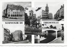 57 THIONVILLE Cpm Multivues - Thionville