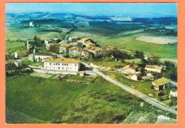 THU054 Peu Commun LABESSIERES-CANDEIL (81) Centre Géographique Du TARN Vue Générale Aérienne 1975s COMBIER 117 - Altri Comuni