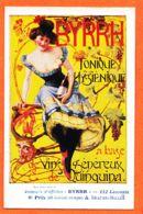 THU071 Affiche BYRRH Tonique QUINQUINA BEAUME-MILLER 6e Prix- 66 Ex-aequo Concours Affiches 112 Lauréats Cppub 1910s - Publicidad