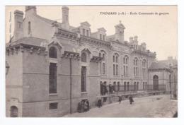 THOUARS Ecole Communale De Garcons  (carte Neuve) - Thouars