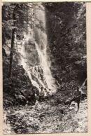 THU122 Localisable Cascade Repos 3 Poilus Carte-Photo GUERRE 1914-18 Arrière Front Probable Forêt VOSGES ALSACE CpaWW1 - France