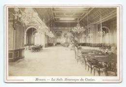 PHOTO Fin 19eme MONACO  La Salle Mauresque Du Casino    Dim 11/17 Cm - Photos