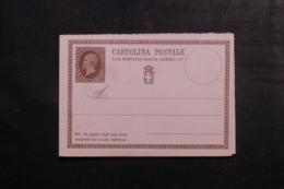 ITALIE - Entier Postal + Réponse Non Circulé - L 44962 - 1861-78 Victor Emmanuel II.