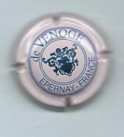 346 CH - CHAMPAGNE De VENOGE (ROSE écriture Bleue) - De Venoge