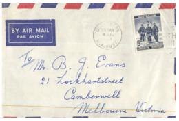 (ED 30) Australia Cover - AAT - 5 D - (posted In 1961 To Victoria) - Australisches Antarktis-Territorium (AAT)