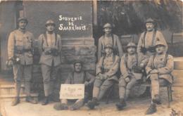 ALLEMAGNE - Souvenir De SARRELOUIS - Carte Photo - Militaria - Poste De Police - Kreis Saarlouis