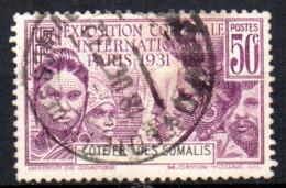 Col17  Colonie Cote Des Somalis  N° 137 Oblitéré  Cote 8,25€ - Oblitérés