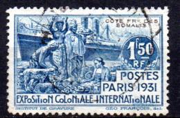 Col17  Colonie Cote Des Somalis  N° 140 Oblitéré  Cote 8,25€ - Oblitérés