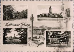 Kelbra (Kyffhäuser) Kaiser-Friedrich-Wilhelm- Denkmal, Häuseransicht 1962 - Deutschland