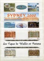 RC 14221 WALLIS ET FUTUNA BF N° 9 / 10 BLOCS FEUILLETS COTE 18,50€ NEUF ** - Blocks & Sheetlets