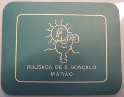 HOTEL PENSAO RESIDENCIAL PENSION GONCALO MARAO CALDAS DECAL STICKER LUGGAGE LABEL ETIQUETTE AUFKLEBER PORTUGAL - Hotel Labels