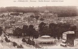 CP 78 Yvelines Versailles Panorama Pavillon Barascud Cathédrale St Louis 172 David - Versailles