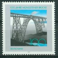 Bm Germany, BRD 1997 MiNr 1931 MNH | Centenary Of Mungsten Railway Bridge - [7] Federal Republic