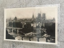 75 Paris Notre Dame 1936 Ile De La Cite - Notre Dame De Paris