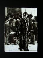 Autografo Piero Cappucilli Baritono Aida Foto Ellinger Salzburg Teatro - Handtekening