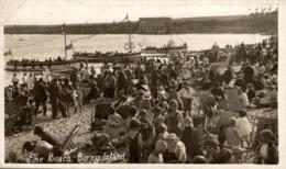 THE  BEACH BARRY ISLAND - Glamorgan
