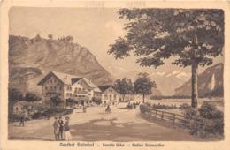SUISSE - Gasthof Balmhof : Famille Uufer - Station Brienzwiler - Illustrateur - Non Classés