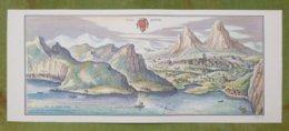 """Reproduction Gravure - Vue Générale De Villes - VIERWALDSTÄTTER SEE """"Svitia, Schweytz"""" D'après Merian, 1642 - Estampes & Gravures"""