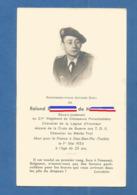 FAIRE PART AVIS DECES MILITAIRE INDOCHINE  DIEN BIEN PHU 1954 Sous LIEUTENANT B2/1er CHASSEURS PARACHUTISTEs PARA - Documents