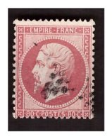Timbre N° 24 Obl. - 1862 Napoléon III.