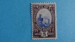 """Saint Marin  - 1929 - 5c Brun Violet Et Outre Mer """"La Rocca"""" - MNH - Neuf Avec Gomme D'origine - Unused Stamps"""