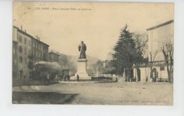LES VANS - Place Léopold Ollier Et Tramway - Les Vans