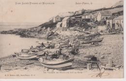 PESCADORES // PECHEURS. - SAINT PIERRE ET MIQUELON - Pesca