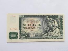 CECOSLOVACCHIA 100 KORUN 1961 - Czechoslovakia