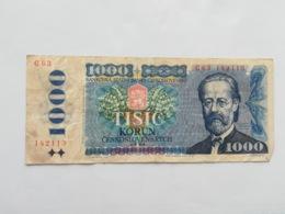 CECOSLOVACCHIA 1000 KORUN 1985 - Czechoslovakia