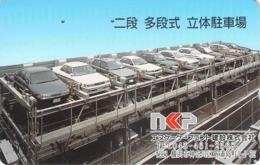 PARKING - GARAGE  - AUTO  - VOITURE - AUTOMOBILE - CAR -- TELECARTE JAPON - Cars