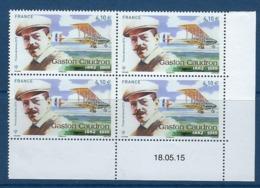 """FR Coins Datés Aerien YT 79 """" Gaston Caudron """" Neuf** Du 18.05.15 - Airmail"""