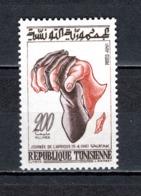 TUNISIE  N° 532   NEUF SANS CHARNIERE  COTE  2.00€   JOURNEE DE L'AFRIQUE - Tunesië (1956-...)