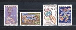 TUNISIE  N° 533 à 536   NEUFS SANS CHARNIERE  COTE  4.50€  JOURNEE DU TIMBRE - Tunesië (1956-...)