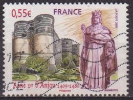Chateau D'Angers - FRANCE - Roi René 1er D'Anjou - N° 4326 - 2009 - Usados
